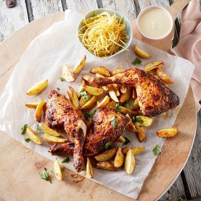 chicken with yoghurt marinade