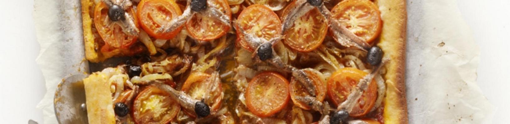 provençal plate pizza