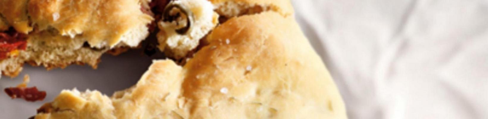 Mediterranean plate bread