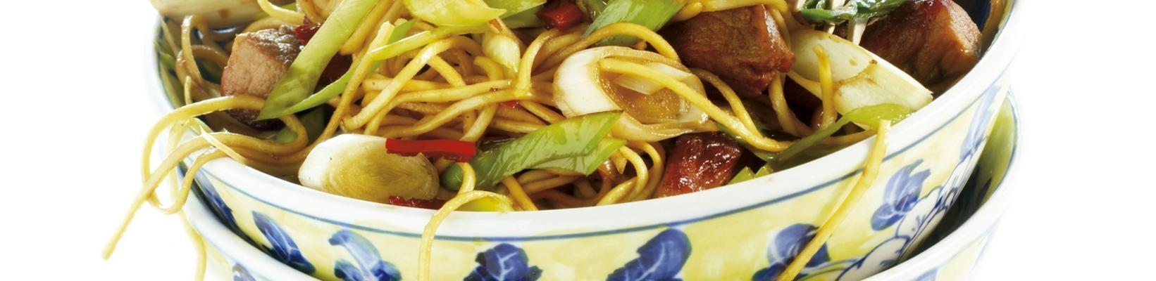noodles with spicy meat