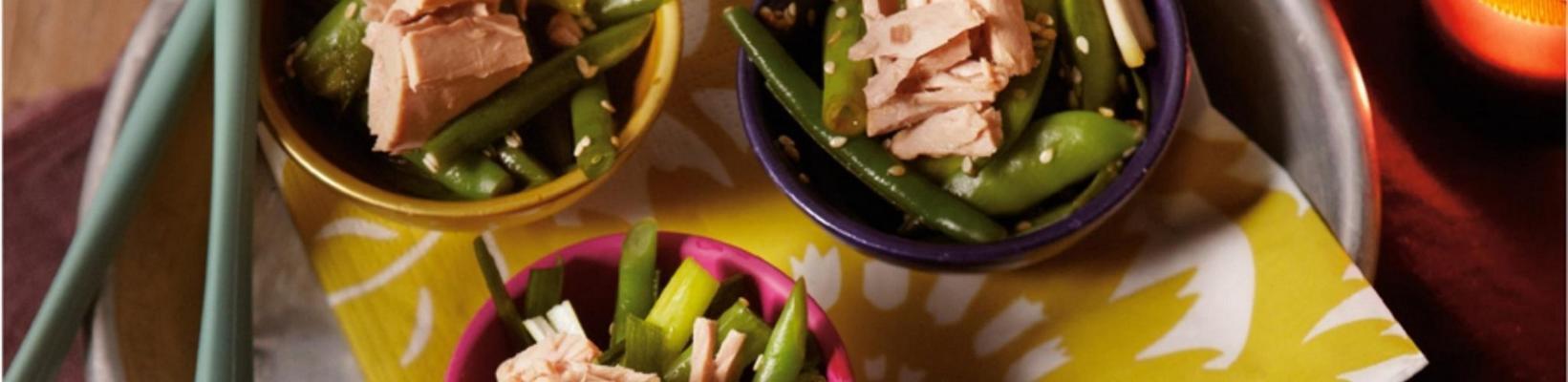 Japanese bean salad