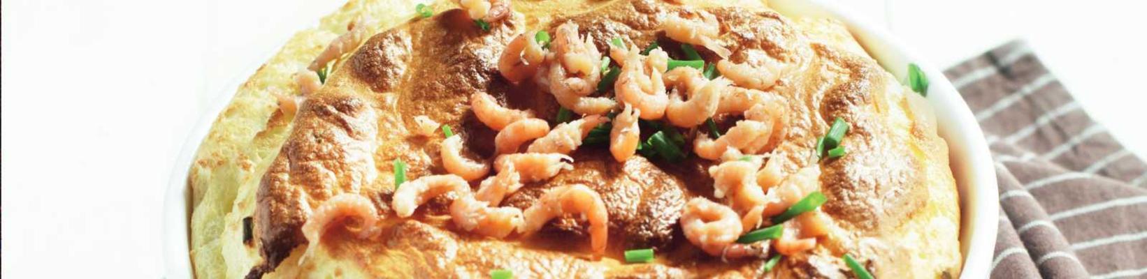 shrimp soufflé