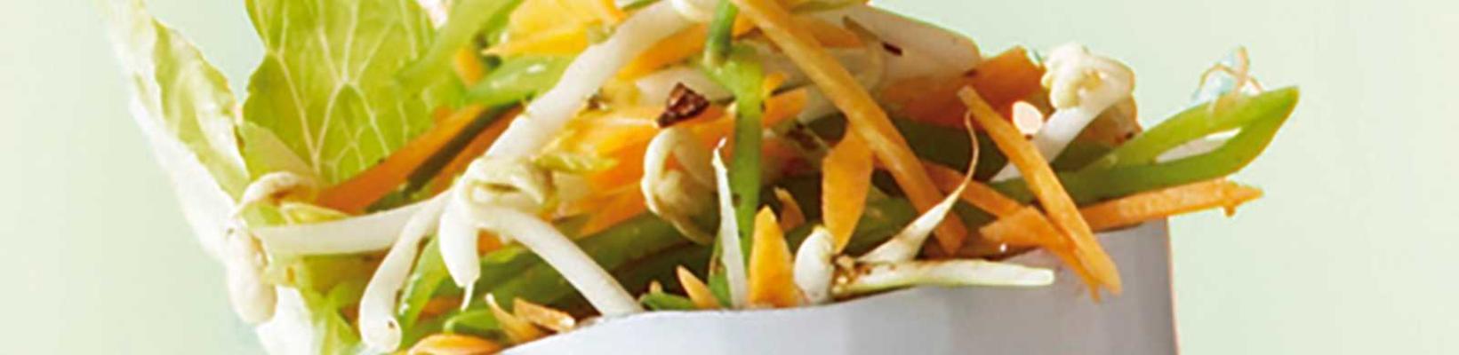 oriental raw salad