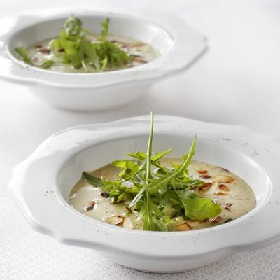 courgette soup with almonds