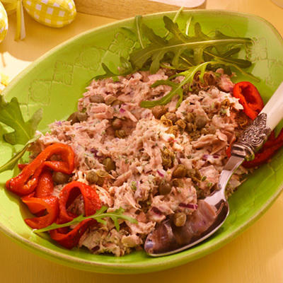 tuna salad with capers