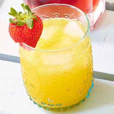 orange lemonade with ginger