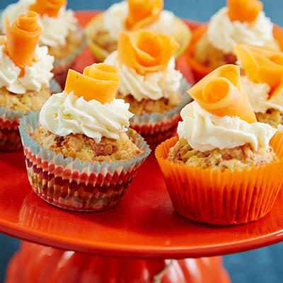 savory cupcakes with ham