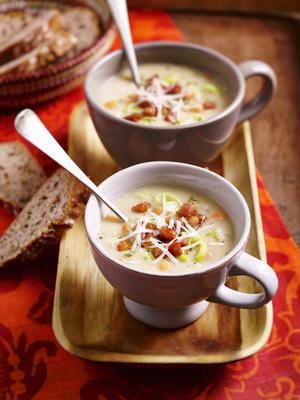 Dutch white bean parsnip soup