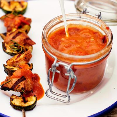 Self-made barbecue sauce