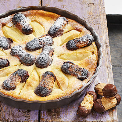 perenclafoutis with goose paws