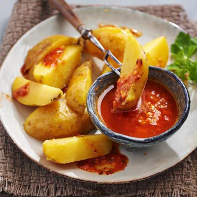 Dutch potatoes on his spanish