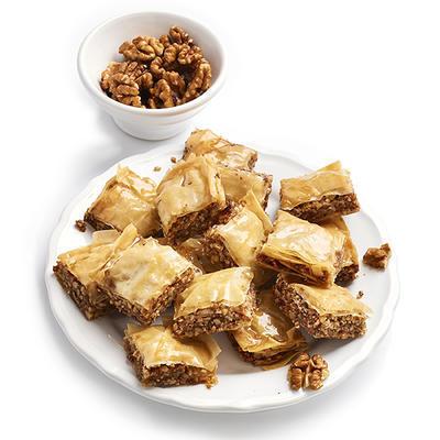 walnuts baklava
