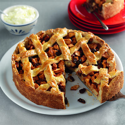 traditional apple pie