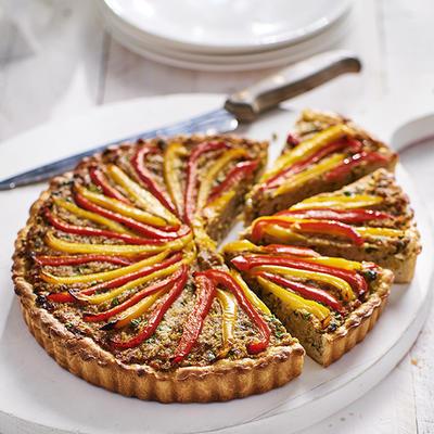 minced pie with paprika