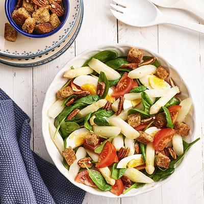 spinach asparagus salad