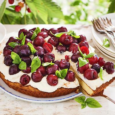 summer cherry pie