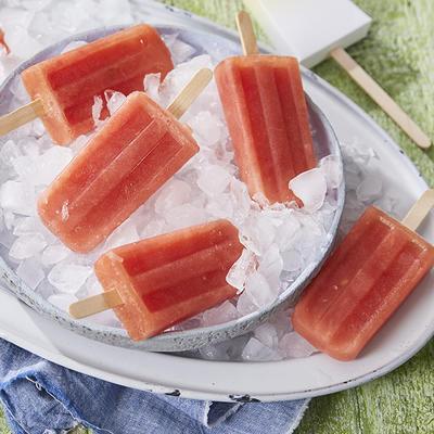 Watermelon ice cream