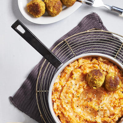 stew with Indian fish balls