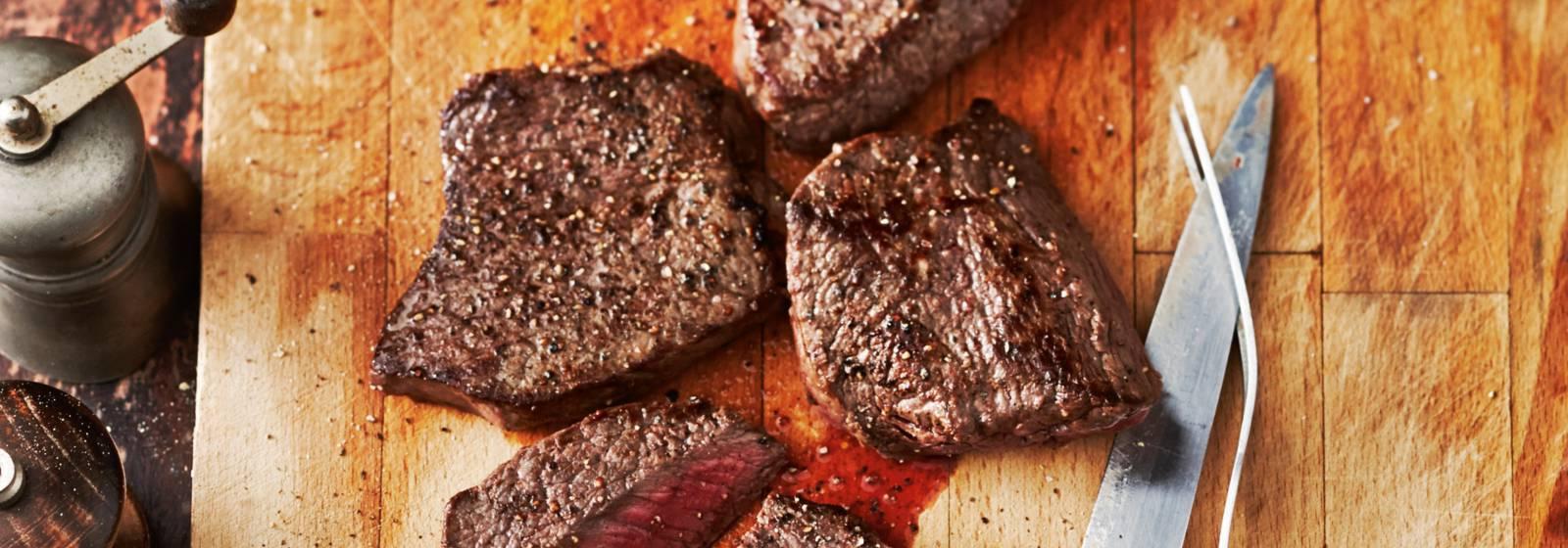 Bake steak