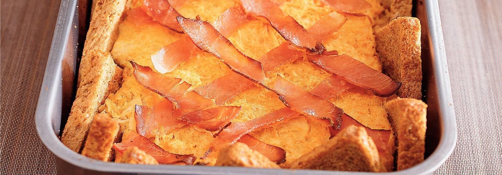 Bread dish with sauerkraut