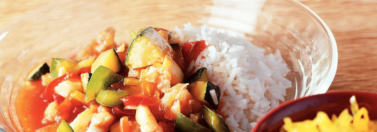 Coalfish with babi pangang sauce