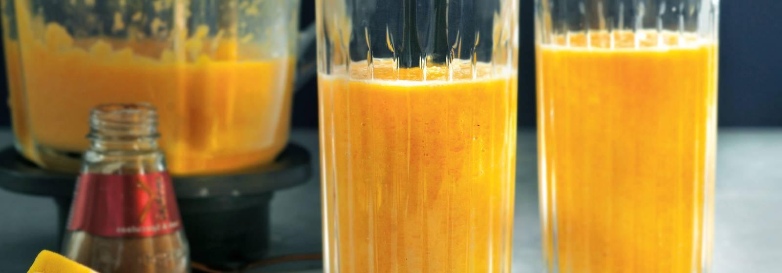 Spicy pumpkin smoothie