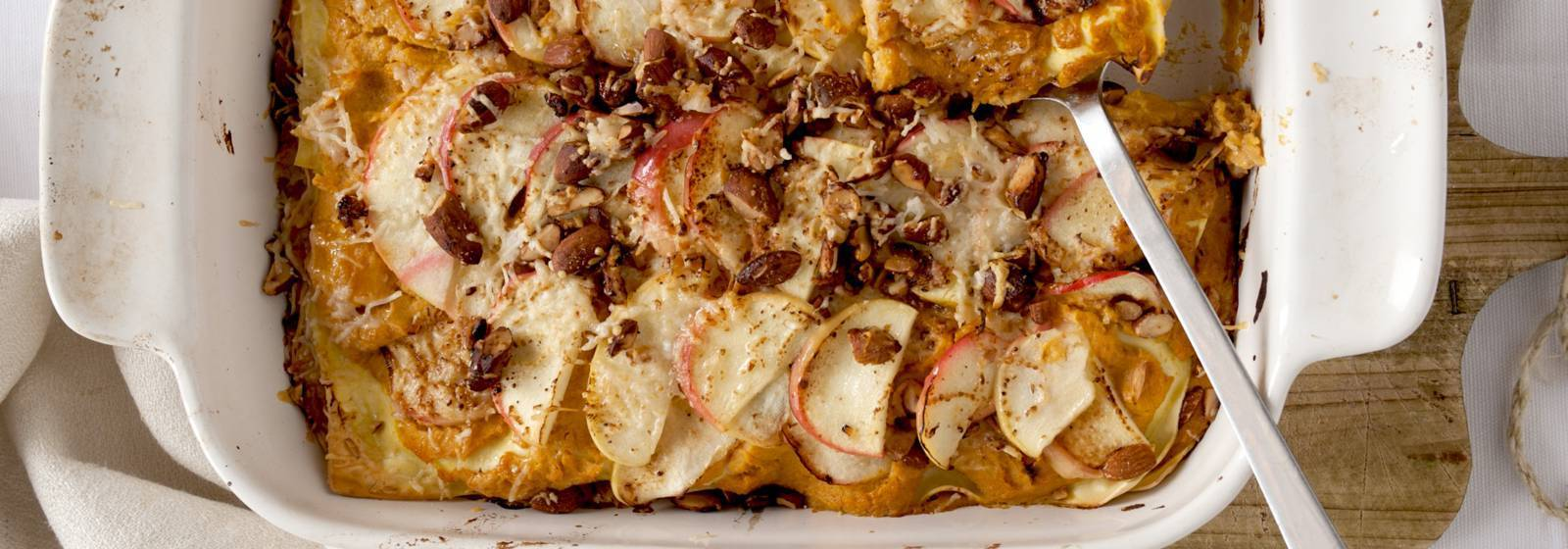 Lasagne With Pumpkin And Apple