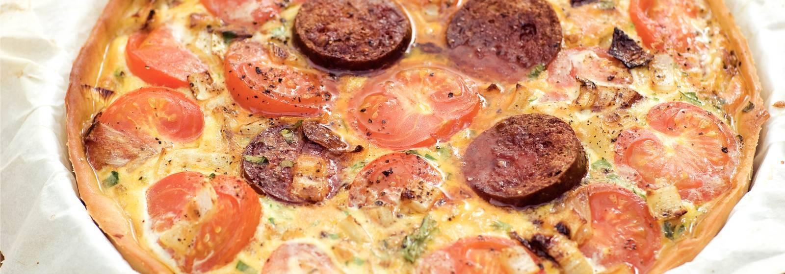 Spanish Tomato pie